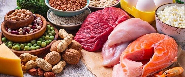 Izvor proteina - meso i povrće