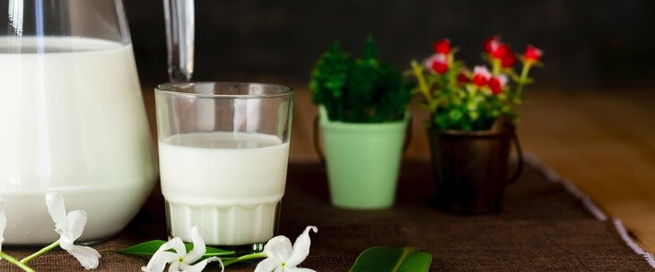 Jogurt na stolu - izvor proteina